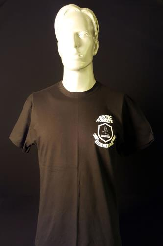 Image of Arctic Monkeys 2011 Tour Local Crew Black/Medium 2011 UK t shirt CREW T SHIRT