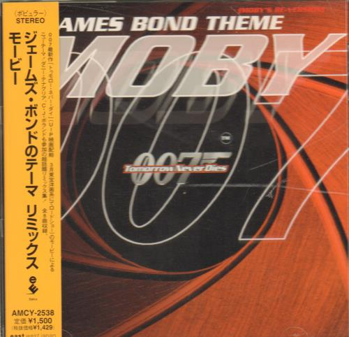 Moby James Bond Theme 1997 Japanese CD album AMCY-2538