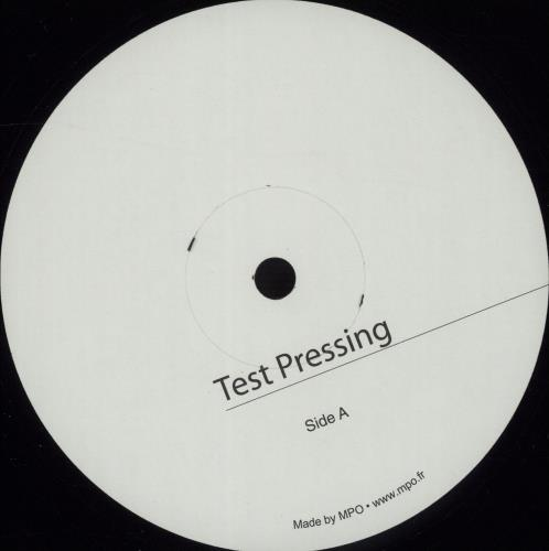 Farmer, Mylene - 2001-2011 - Test Pressing