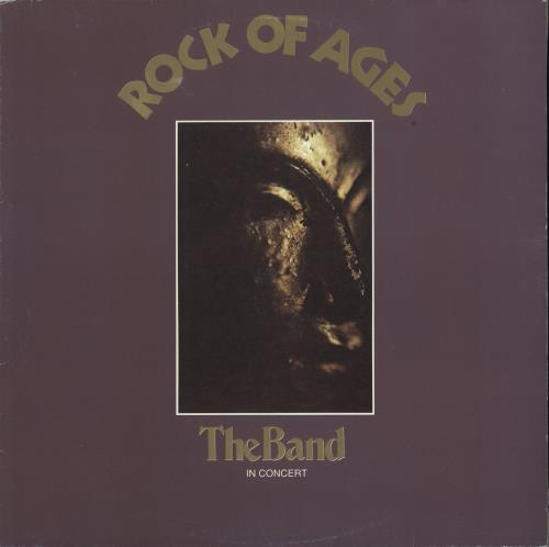 Image of The Band Rock Of Ages: The Band In Concert 1982 Italian 2-LP vinyl set 3C154-81188/89