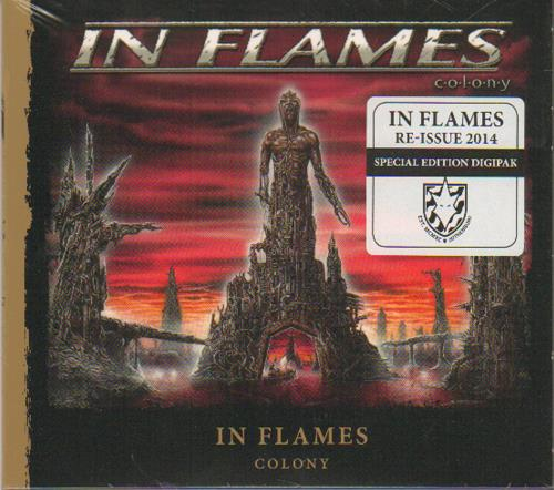 Image of In Flames Colony 2014 German CD album 9984908