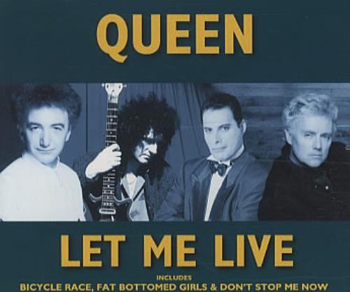 Queen Let Me Live  The Hits Cd 1996 UK CD single CDQUEENS24