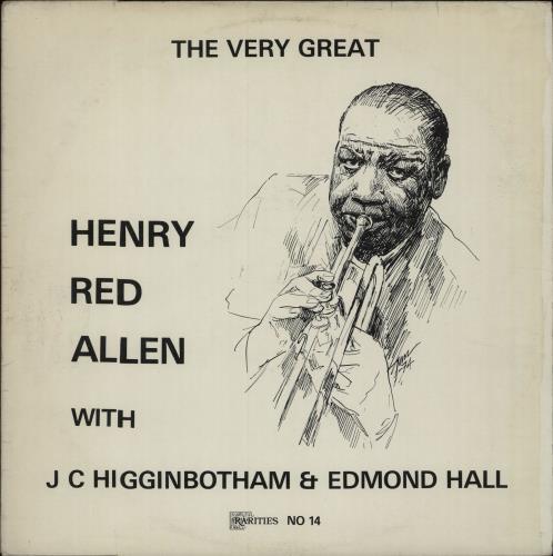Image of Henry 'Red' Allen The Very Great 1974 Danish vinyl LP 14