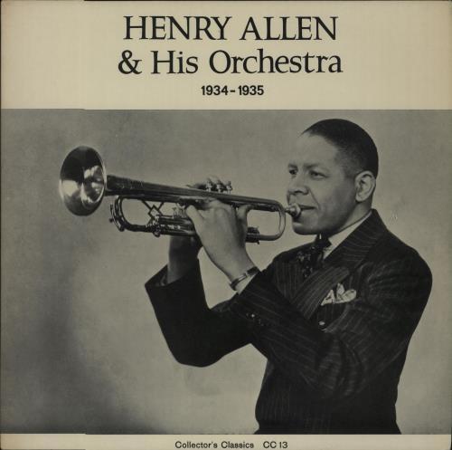 Image of Henry 'Red' Allen Henry Allen & His Orchestra 1934-1935 Danish vinyl LP CC13