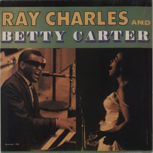 Ray Charles And Betty Carter Ray Charles And Betty Carter 1988 USA vinyl LP DZL-039