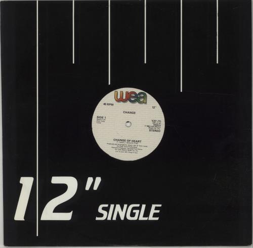 """Image of Change Change Of Heart 1984 UK 12"""" vinyl YZ7(T)"""