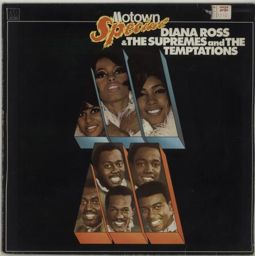 Image of Diana Ross & The Supremes Motown Special 1977 Dutch vinyl LP 5C03898337