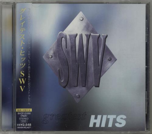 Image of SWV Greatest Hits + Obi 1999 Japanese CD album BVCP-21050