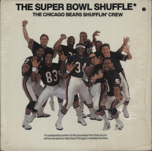 "Image of The Chicago Bears Shufflin' Crew The Super Bowl Shuffle 1985 USA 12"" vinyl V-70060"