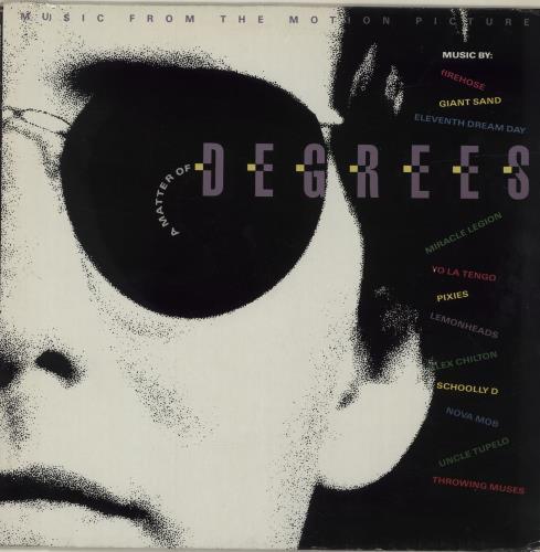 Image of Original Soundtrack A Matter Of Degrees 1991 German vinyl LP 7567-82245-1