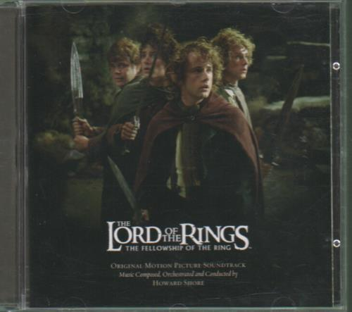 The Lord Of The Rings The Fellowship Of The Ring 2001 UK CD album 9362-48110-2