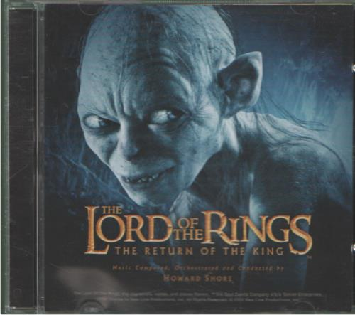 The Lord Of The Rings The Return Of The King 2003 UK CD album 9362486092