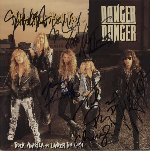 Danger Danger - I Still Think About You - Autographed