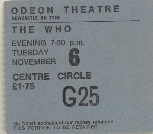 1973 Odeon Theatre