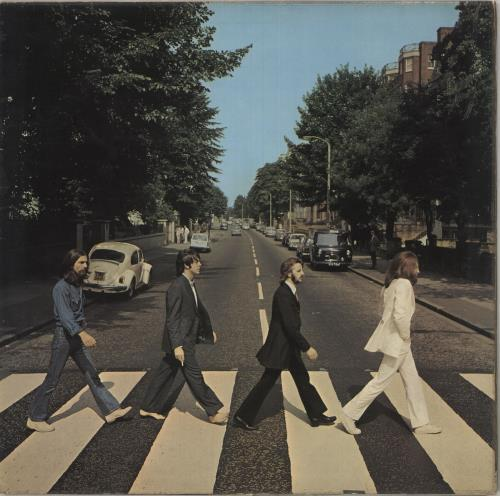 Beatles - Abbey Road - 2nd - Ex/vg