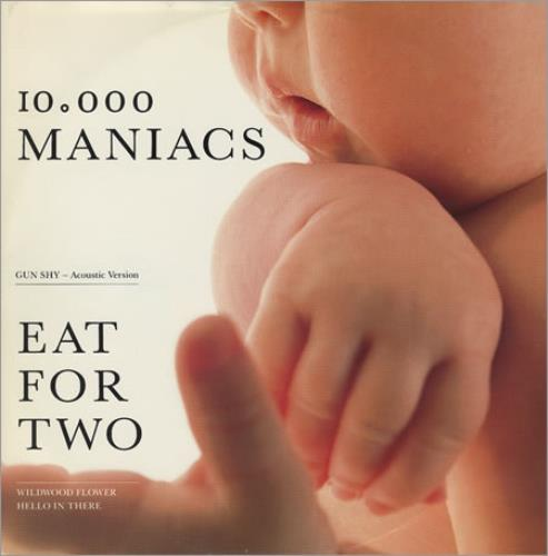 "Image of 10,000 Maniacs Eat For Two 1989 UK 12"" vinyl EKR100T"
