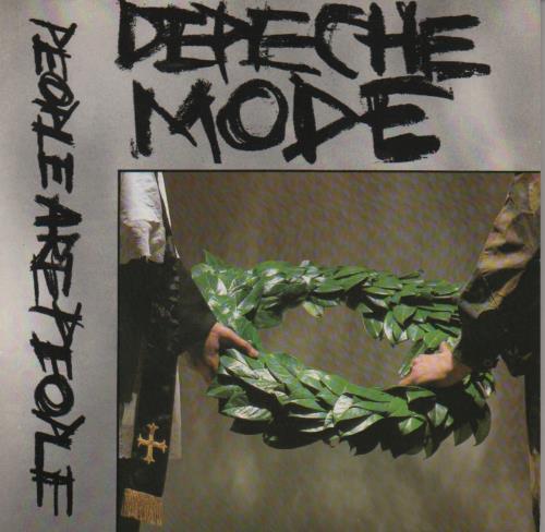"Image of Depeche Mode People Are People 1984 UK 7"" vinyl 7BONG5"