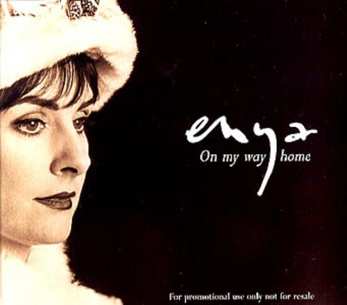 Enya On My Way Home 1996 USA CD single PROCD8056