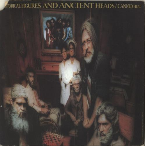Canned Heat - Historical Figures And Ancient Heads + Poster
