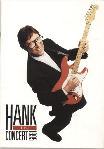 Hank Marvin In Concert 1995 1995 UK tour programme TOUR PROGRAMME