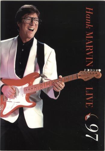 Hank Marvin Live 1997 1997 UK tour programme TOUR PROGRAMME