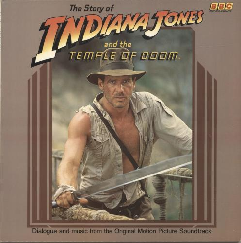 John Williams (Composer) The Story Of Indiana Jones And The Temple Of Doom 1984 UK vinyl LP REH543