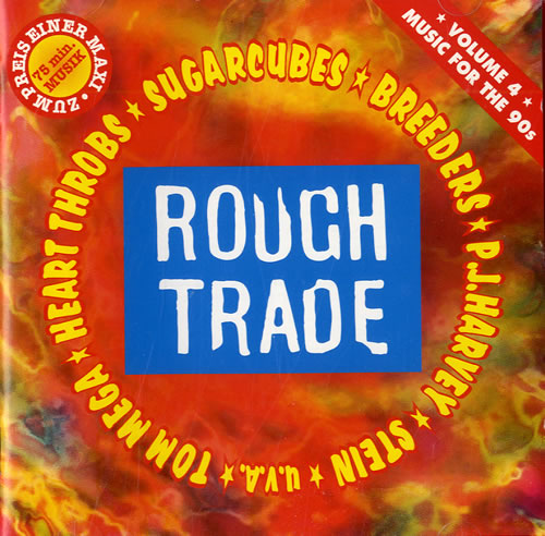 Various Artists Rough Trade Music For The 90s  Vol 4 1992 German CD album RTD19912992
