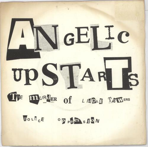 Angelic Upstarts The Murder Of Liddle Towers - EX 1978 UK 7\