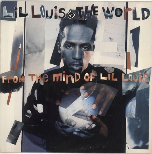 Lil Louis From The Mind Of Lil Louis 1989 UK vinyl LP E45468