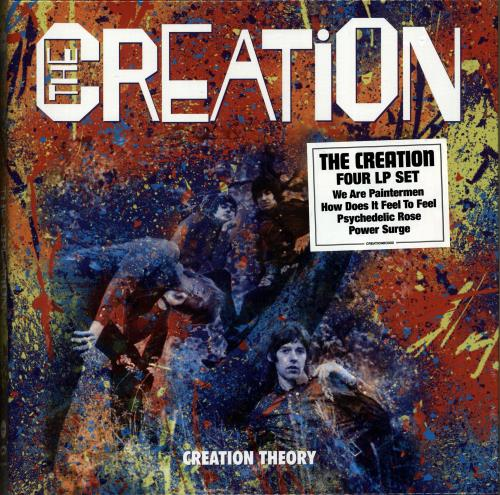 The Creation Creation Theory 2018 UK vinyl box set CREATIONBOX02