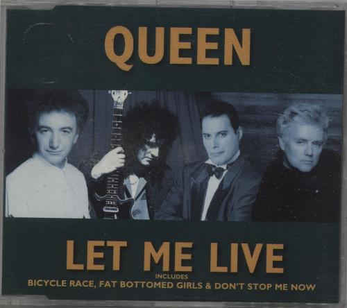 Queen Let Me Live 1996 Dutch CD single 8829572