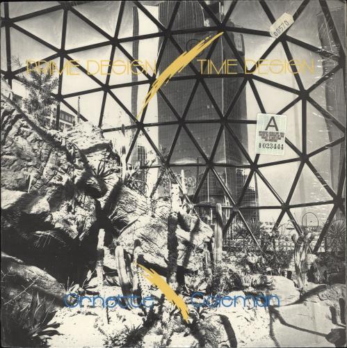 Image of Ornette Coleman Prime Design / Time Design 1986 USA vinyl LP CDP85002