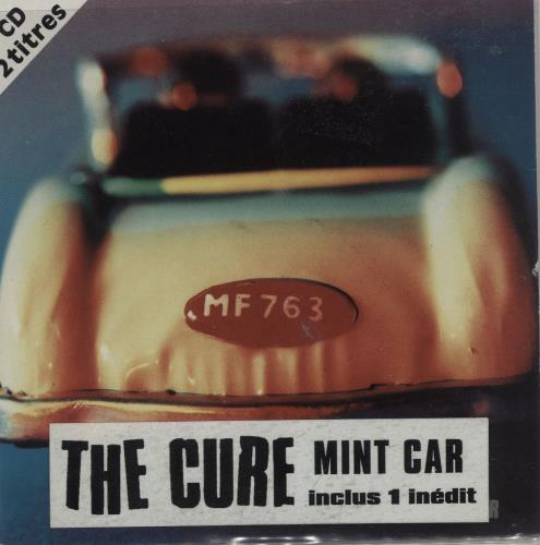 Cure - Mint Car - Stickered Sleeve