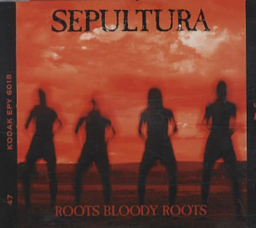 Sepultura Roots Bloody Roots 1996 UK CD single RR23203