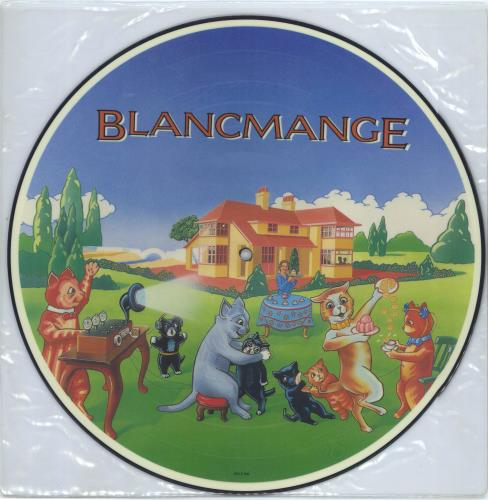 Blancmange Happy Families 1982 UK picture disc LP SHPD8552