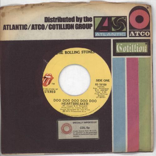 Rolling Stones - Doo Doo Doo Doo Doo (heartbreaker)