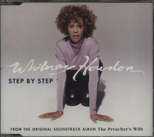 Whitney Houston Step By Step 1996 German CD single 74321437662