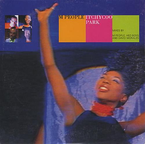 M-People Itchycoo Park 1996 UK CD single 7432133073-2
