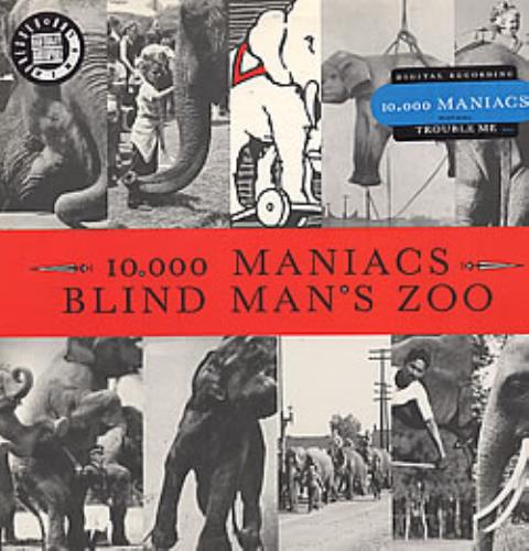 Image of 10,000 Maniacs Blind Man's Zoo 1989 USA vinyl LP 60815-1
