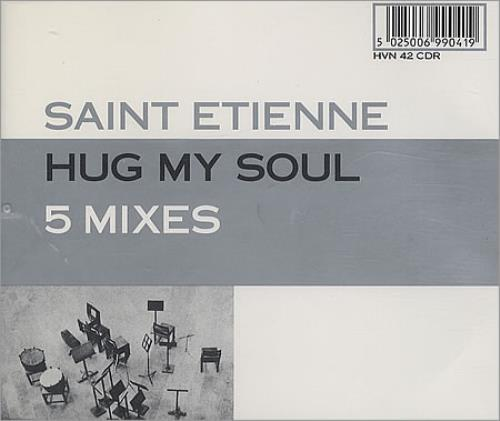 Image of St Etienne Hug My Soul 1994 UK CD single HVN42CDR