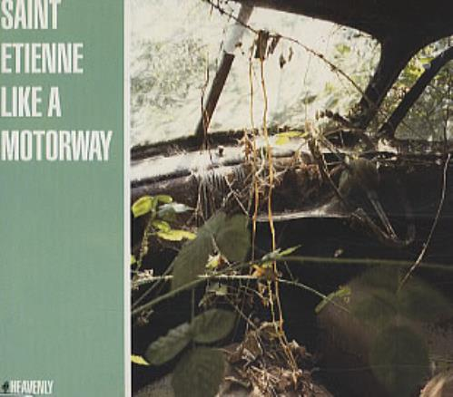 Image of St Etienne Like A Motorway 1994 UK CD single HVN40CD