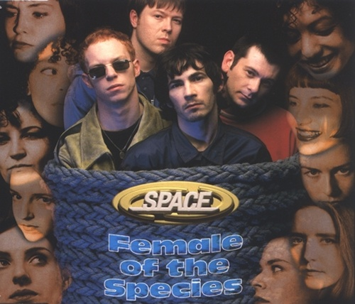 Space (90s) Female Of The Species  1st Issue 1996 UK CD single CDGUT2