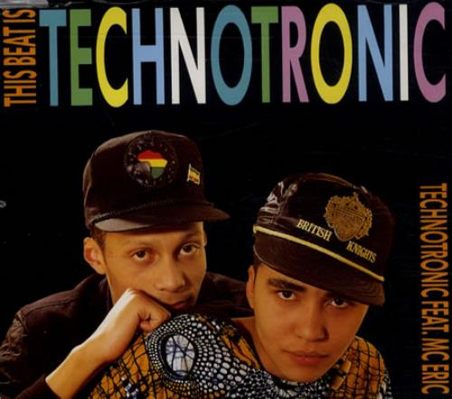 Technotronic This Beat Is Technotronic 1990 German CD single 20420
