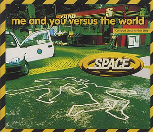 Space (90s) Me And You Versus The World 1996 UK CD single CDGUT4