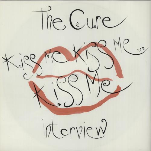 The Cure Kiss Me Kiss Me Kiss Me Interview 1987 UK vinyl LP KSME2
