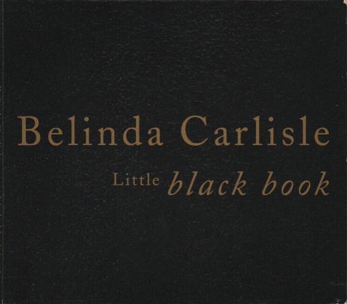 Belinda Carlisle Little Black Book  Address Book Pack 1992 UK CD single VSCDG1428