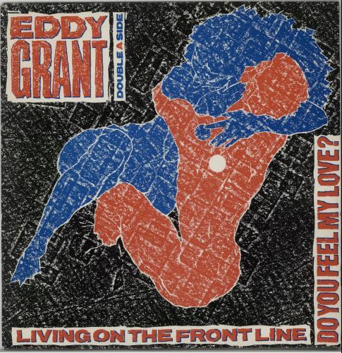 Eddy Grant Living On The Frontline 1979 UK 12 vinyl MERX135
