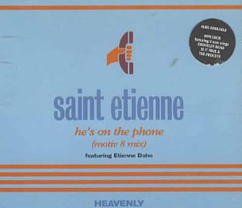St Etienne - He's On The Phone CD