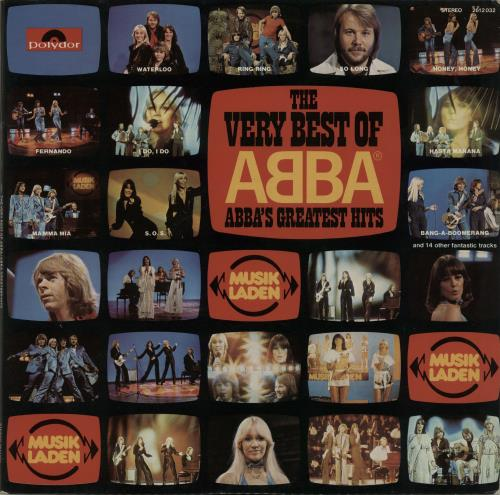Abba The Very Best Of Abba 1976 German 2LP vinyl set 2612032