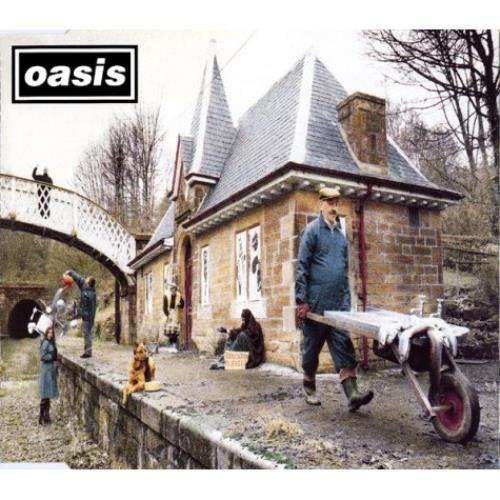 Oasis Some Might Say 1995 Austrian CD single 6614482